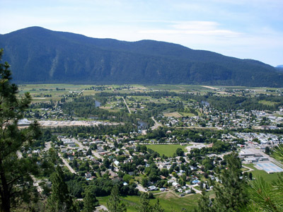 Grand Forks, BC valley